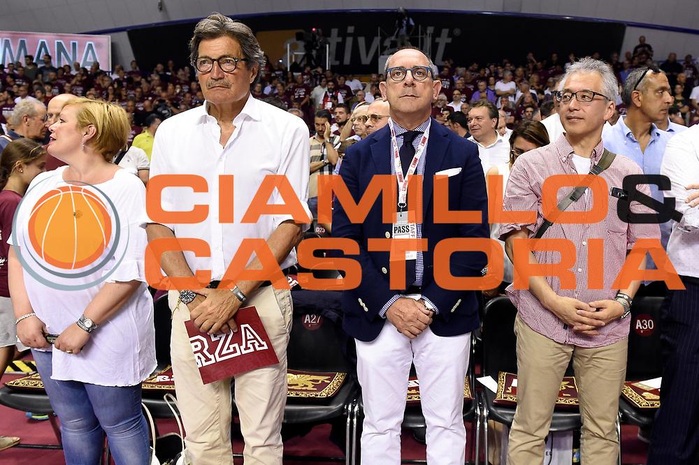 Egidio Bianchi<br /> Umana Reyer Venezia - Dolomiti Energia Aquila Basket Trento<br /> Lega Basket Serie A 2016/2017<br /> Playoff, finale gara 2<br /> Venezia, 12/06/2017<br /> Foto M.Ceretti / Ciamillo-Castoria