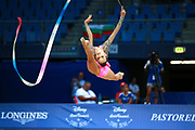 Nastasija Gvozdic is a young Serbian gymnast, she was born in 2001. Her dream is to compete in the upcoming Olympics in Tokyo.