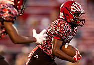 Xavier Mascareñas/Treasure Coast Newspapers; Vero Beach's Jamar Trusty runs on a direct snap in the second quarter against Port St. Lucie during the high school football game Friday, Sept. 16, 2016, at the Citrus Bowl in Vero Beach.