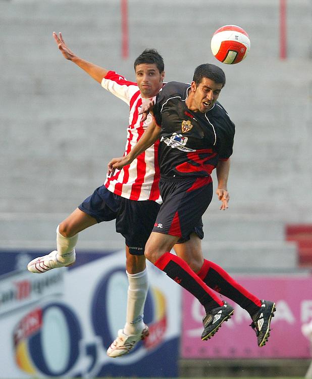 2007. July, 7th. Partido de pretemporada segunda división A disputado entre el Girona F.C. como equipo local y el Almeria..COPYRIGHT: TONI VILCHES FOTOGRAFIA.