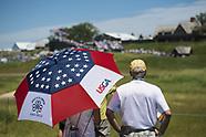 US Open Golf, Round 1, 15 June 2017