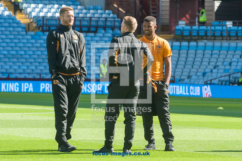Hull City players arrive at Villa Park, Birmingham, ahead of the Sky Bet Championship match between Aston Villa and Hull City<br /> Picture by Matt Wilkinson/Focus Images Ltd 07814 960751<br /> 05/08/2017
