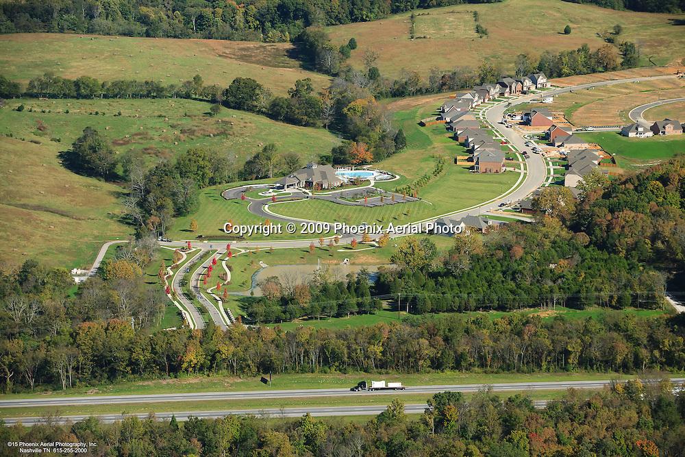 Aerial Photo Of The Stonebridge Community In Lebanon Tennessee