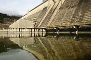 Libby Dam on the Kootenai River near Libby, Montana.