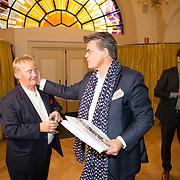 NLD/Heemstede/20151116 - Boekpresentatie De Zin van het Leven, psycholoog Bram Bakker