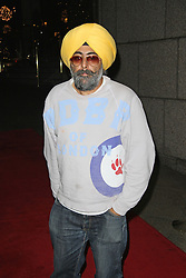 © Licensed to London News Pictures. 28/11/2014, UK. Hardeep Singh Kohli, The Odd Ball, Royal Garden Hotel, London UK, 28 November 2014. Photo credit : Brett D. Cove/Piqtured/LNP