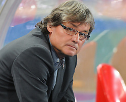 "06.09.2011, Ernst Happel Stadion, Wien, AUT, UEFA EURO 2012, Qualifikation, Oesterreich (AUT) vs Tuerkei (TUR), im Bild Trainer oesterreichische Nationalmannschaft Dietmar ""Didi"" Constantini // during the UEFA Euro 2012 Qualifier Game, Austria vs Turkey, at Ernst Happel Stadium, Vienna, 2011-09-06, EXPA Pictures © 2011, PhotoCredit: EXPA/ M. Gruber"
