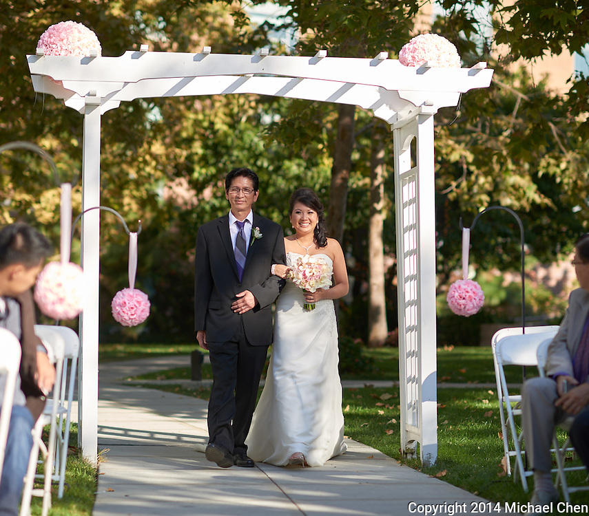 2013/10/06: Melissa &amp; Joshua Wedding<br /> <br /> Photos by Michael Chen