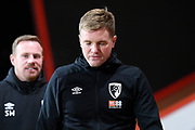 AFC Bournemouth manager Eddie Howe arrives ahead of the Premier League match between Bournemouth and Brighton and Hove Albion at the Vitality Stadium, Bournemouth, England on 21 January 2020.