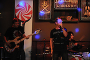 Sugar Rush performs at The Harp in Perry Hall for their first show.