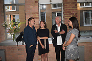 ANDREW DOUGLAS; LISA BAKER; MICHAEL BIRT; Private View for The Douglas Brothers - SEE / SAW. BERMONDSEY PROJECT SPACE, London. 14 June 2017