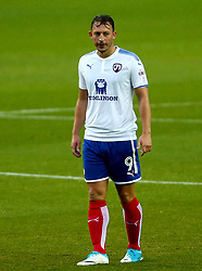 Kristian Dennis of Chesterfield - Mandatory by-line: Robbie Stephenson/JMP - 08/08/2017 - FOOTBALL - Hillsborough - Sheffield, England - Sheffield Wednesday v Chesterfield - Carabao Cup