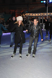 TRINNY WOODALL and RYAN PRINCE at a Winter Party given by Tiffany & Co. Europe to launch the 10th season of Somerset House's Ice Skating Rink at Somerset House, The  Strand, London on 16th November 2009.