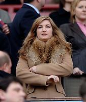 Photo: Glyn Thomas.<br />Aston Villa v Birmingham City. The Barclays Premiership. 16/04/2006.<br /> Birmingham City's manager director Karen Brady.