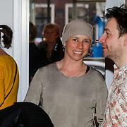 NLD/Den Haag/20130403 - Premiere de Huisvrouwenmonologen, Selly Vermeijden partner van Beau van Erven Dorens