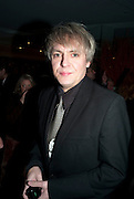NICK RHODES, Launch of Nicky Haslam's book Redeeming Features. Aqua Nueva. 5th floor. 240 Regent St. London W1.  5 November 2009.  *** Local Caption *** -DO NOT ARCHIVE-© Copyright Photograph by Dafydd Jones. 248 Clapham Rd. London SW9 0PZ. Tel 0207 820 0771. www.dafjones.com.<br /> NICK RHODES, Launch of Nicky Haslam's book Redeeming Features. Aqua Nueva. 5th floor. 240 Regent St. London W1.  5 November 2009.