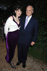 NICHOLAS & GEORGINA COLERIDGE at the annual Cartier Chelsea Flower Show dinner held at the Chelsea Physic Garden, London on 21st May 2007.<br /><br />NON EXCLUSIVE - WORLD RIGHTS