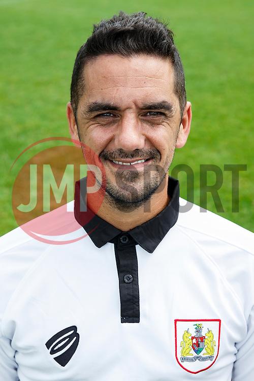 Scott Murray- Photo mandatory by-line: Rogan Thomson/JMP - 07966 386802 - 04/08/2014 - SPORT - FOOTBALL - BCFC Training Ground, Failand - Bristol City, 2014/15 Team Photos.