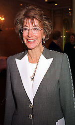 Actress MAUREEN LIPMAN at a luncheon in London on 11th October 1999.<br /> MXJ 2