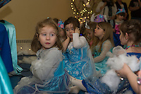 Anna and Elsa Tea Party at Gilford Community Center.  Karen Bobotas for the Laconia Daily Sun