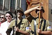 70 ème anniversaire de la Libération de la ville de Grenoble.