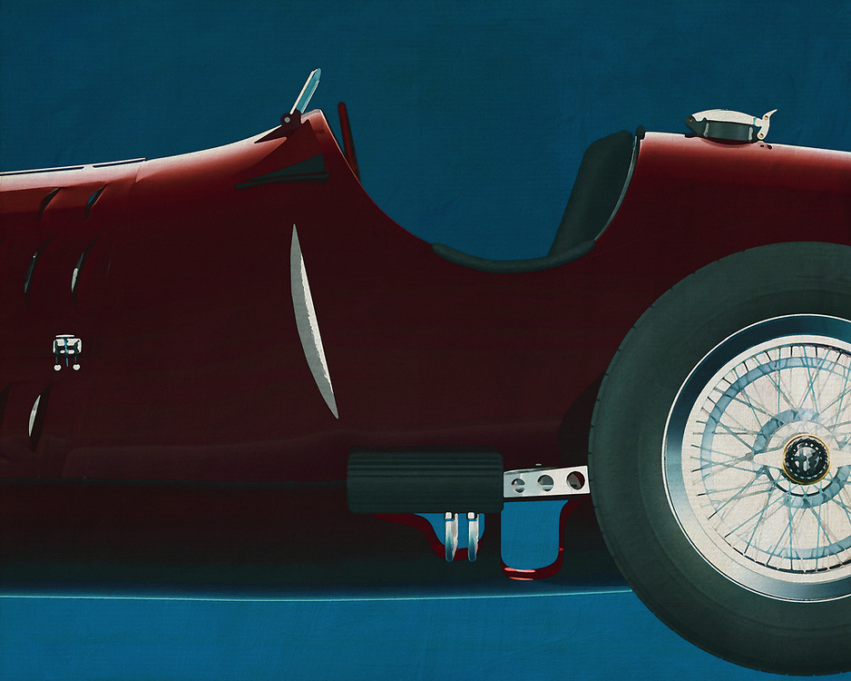 Alfa Romeo 8c 1935<br /> If you want to give your interior an extra stylish detail, this painting of an old racing car, an Alfa Romeo 8c from 1936, is perfect. -<br /> <br /> BUY THIS PRINT AT<br /> <br /> FINE ART AMERICA<br /> ENGLISH<br /> https://janke.pixels.com/featured/1-alfa-romeo-8c-1935-jan-keteleer.html<br /> <br /> WADM / OH MY PRINTS<br /> DUTCH / FRENCH / GERMAN<br /> https://www.werkaandemuur.nl/nl/shopwerk/Alfa-Romeo-8c-1935-zijde/571746/132