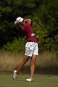 Rebecca Kim during the first round of match play at the U.S. Women's Amateur at Crooked Stick Golf Club on Aug. 8, 2007 in Carmel, Ind.    ...©2007 Scott A. Miller