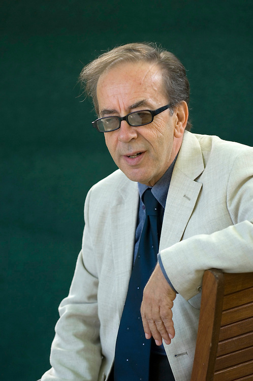 EDINBURGH, SCOTLAND - AUGUST19. Albanian author Ismail Kadare poses during a portrait session held at Edinburgh Book Festival on August 19, 2006  in Edinburgh, Scotland. (Photo by Marco Secchi/Getty Images).
