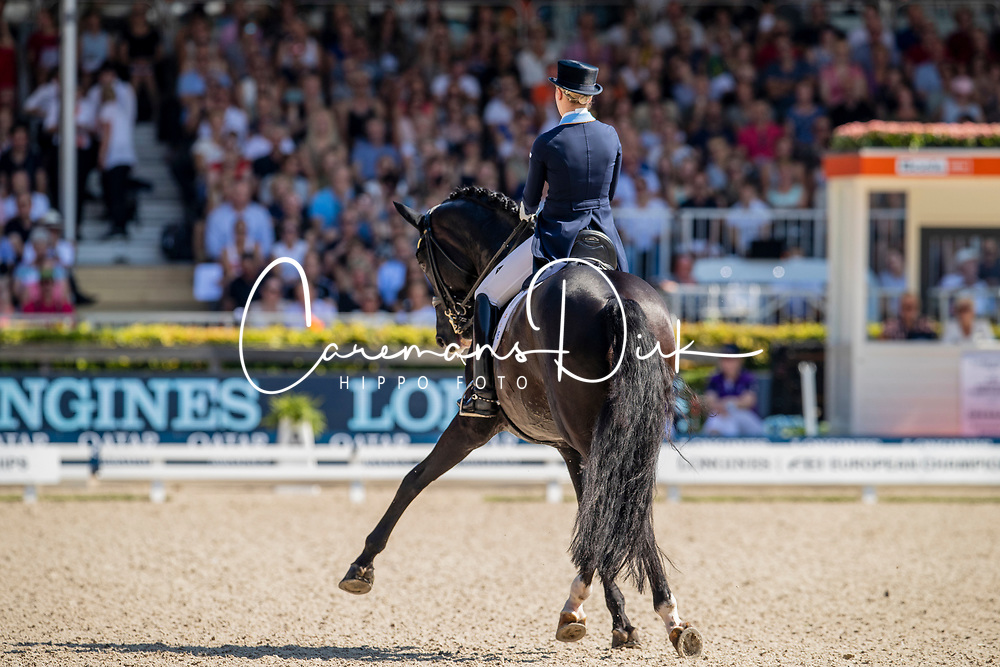 Nilshagen Therese, SWE, Dante Weltino Old<br /> European Championship Dressage<br /> Rotterdam 2019<br /> © Hippo Foto - Dirk Caremans