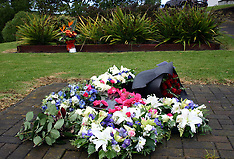 Auckland-35th anniversary of Mt Erebus crash at airport memorial