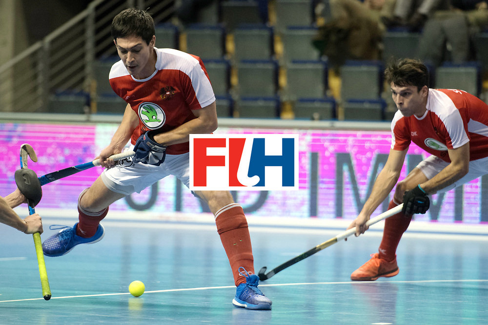 BERLIN - Indoor Hockey World Cup<br /> Austria - South Africa<br /> foto: SCHMIDT Patrick<br /> WORLDSPORTPICS COPYRIGHT FRANK UIJLENBROEK