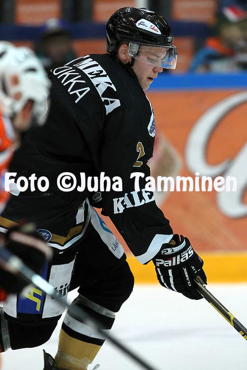 6.10.2012, Ritari Areena, H?meenlinna..J??kiekon SM-liiga 2012-13. HPK - K?rp?t..Ville Pokka - K?rp?t