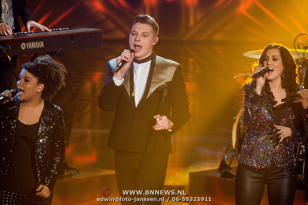 NLD/Hilversum/20131220 - Finale The Voice of Holland 2013, John Newman