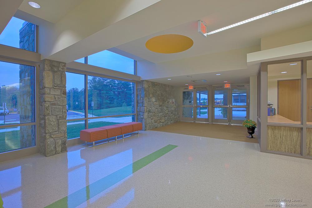 Interior image of the Potomac School Lower School