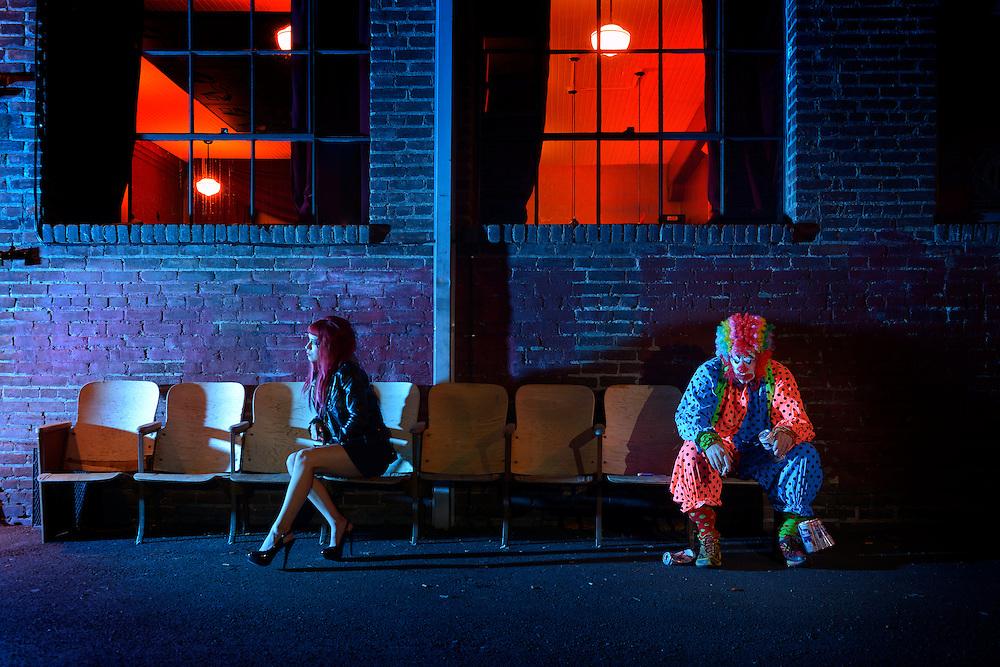 American Dreamscapes / The Alley<br /> Bend,Oregon,USA,2104