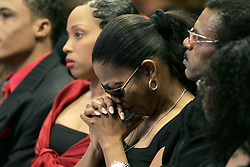 Dec 21, 2007 - Gardena, CA, USA -  MIA TURNER weeps at her father Ike Turner during his funeral. Turner, who was considered one of the founding fathers of rock music, but his career was often overshadowed by run - ins with the law and a stormy marriage to Tina Turner. Turner died December 12 at his home in San Marcos. He was 76.  Photo by Jonathan Alcorn/ZUMA Press. © Copyright 2007 by Jonathan Alcorn (Credit Image: © Jonathan Alcorn/ZUMAPRESS.com)