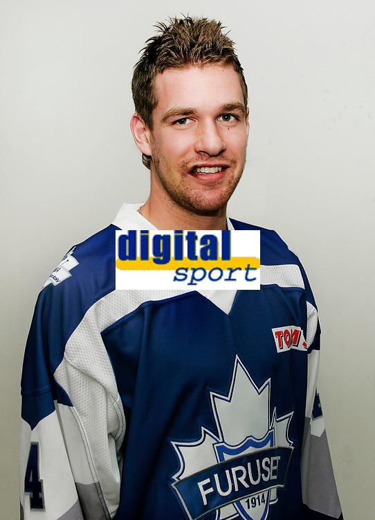 Ishockey Getligaen , sesongen 0708 portrett portretter Teddy Midttun , Furuset FUR
