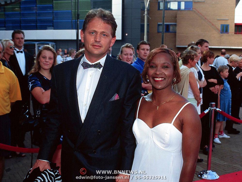 Premiere Batman Scheveningen, Nelly Cooman en haar man Rene Rosier