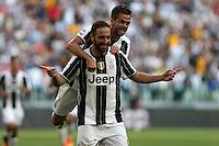 Gonzalo Higuain e Miralem Pjanic - Juventus   - Torino, 10.09.2016 - Serie A 3a giornata - Juventus-Sassuolo