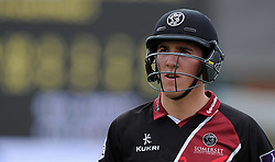 Somerset's Craig Overton - Photo mandatory by-line: Harry Trump/JMP - Mobile: 07966 386802 - 29/07/15 - SPORT - CRICKET - Somerset v Durham - Royal London One Day Cup - The County Ground, Taunton, England.