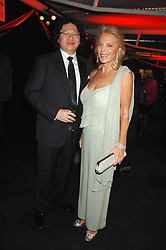 BRUNO WANG and EVA O'NEILL at the British Red Cross Gala Ball 2007 themed 'East Meets West' held at Old Billingsgate, 16 Lower Thames Street, London on 5th June 2007.<br />