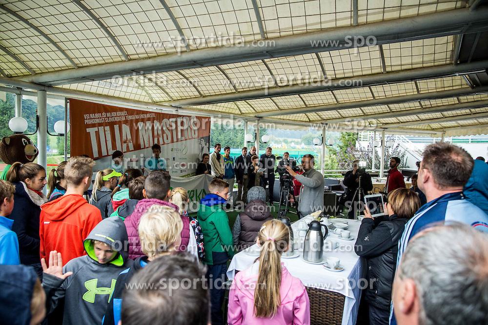 Tennis tournament Tilia Masters 2015, on October 3, 2015 in TK Krka Otocec, Slovenia. Photo by Vid Ponikvar / Sportida