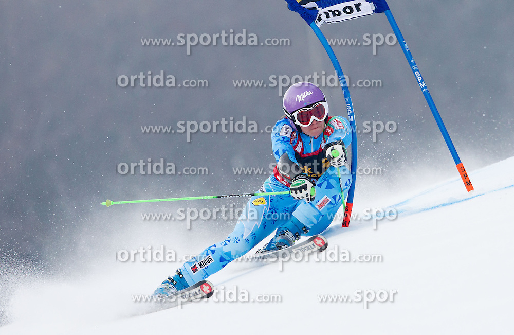 "MAZE Tina of Slovenia competes during FIS Alpine Ski World Cup 7th Ladies' Giant Slalom race named ""49th Golden Fox 2013"", on January 26, 2013 in Mariborsko Pohorje, Maribor, Slovenia. (Photo By Vid Ponikvar / Sportida.com)"