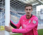 25-10-2014 New Dundee goalkeeper Arvid Schenk