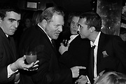 Harvey Weinstein and Dan Macmillan,  Charles Finch and Chanel 7th Anniversary Pre-Bafta party to celebratew A Great Year of Film and Fashiont at Annabel's. Berkeley Sq. London W1. 10 February 2007. -DO NOT ARCHIVE-© Copyright Photograph by Dafydd Jones. 248 Clapham Rd. London SW9 0PZ. Tel 0207 820 0771. www.dafjones.com.