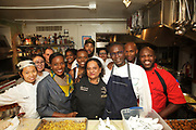 New York, NY - October 7, 2016: The James Beard Foundation celebrates New York African Restaurant Week with an 'Odyssey Across Africa,' a meal presented by Chefs Pierre Thiam, Nadine Nelson, Victor Bongo, Selassie Atadika and Charmain Sithappah. <br /> <br /> CREDIT: Clay Williams for The James Beard Foundation.<br /> <br /> &copy; Clay Williams / claywilliamsphoto.com