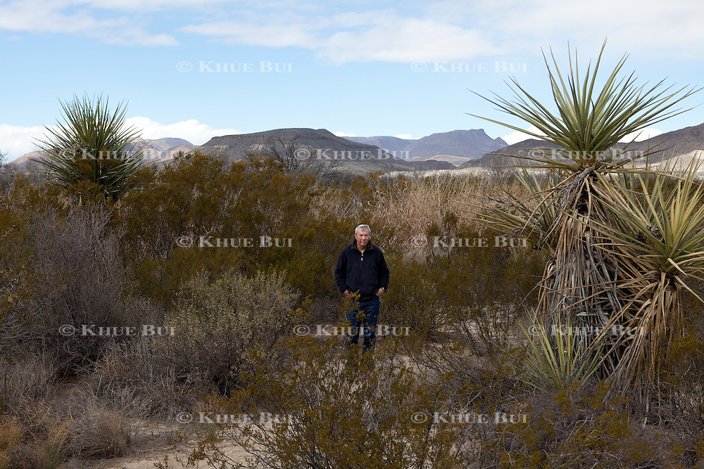 David Kaczynski, brother of Unabomber Ted Kaczynski, is shown Friday, January 8, 2016, on his property in the southwest US.  David and his wife recognized the writings of his brother when the Unabomber's manifesto was published in media outlets.  They eventually went to the FBI with this information that led to the arrest of his brother.<br /> <br /> Photo by Khue Bui
