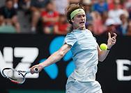 ALEXANDER ZVEREV (GER)<br /> <br /> Tennis - Australian Open 2018 - Grand Slam / ATP / WTA -  Melbourne  Park - Melbourne - Victoria - Australia  - 20 January 2018.