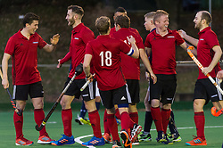 Southgate v Cambridge City - Men's Hockey League East Conference, Trent Park, London, UK on 11November 2017. Photo: Simon Parker
