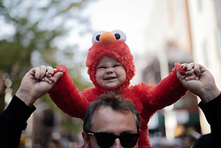November 1, 2018 - New York, New York, United States - Thousands of People Participated on the Annual Village Halloween Parade in New York City, USA on October 31, 2018. (Credit Image: © Mohammad Hamja/NurPhoto via ZUMA Press)